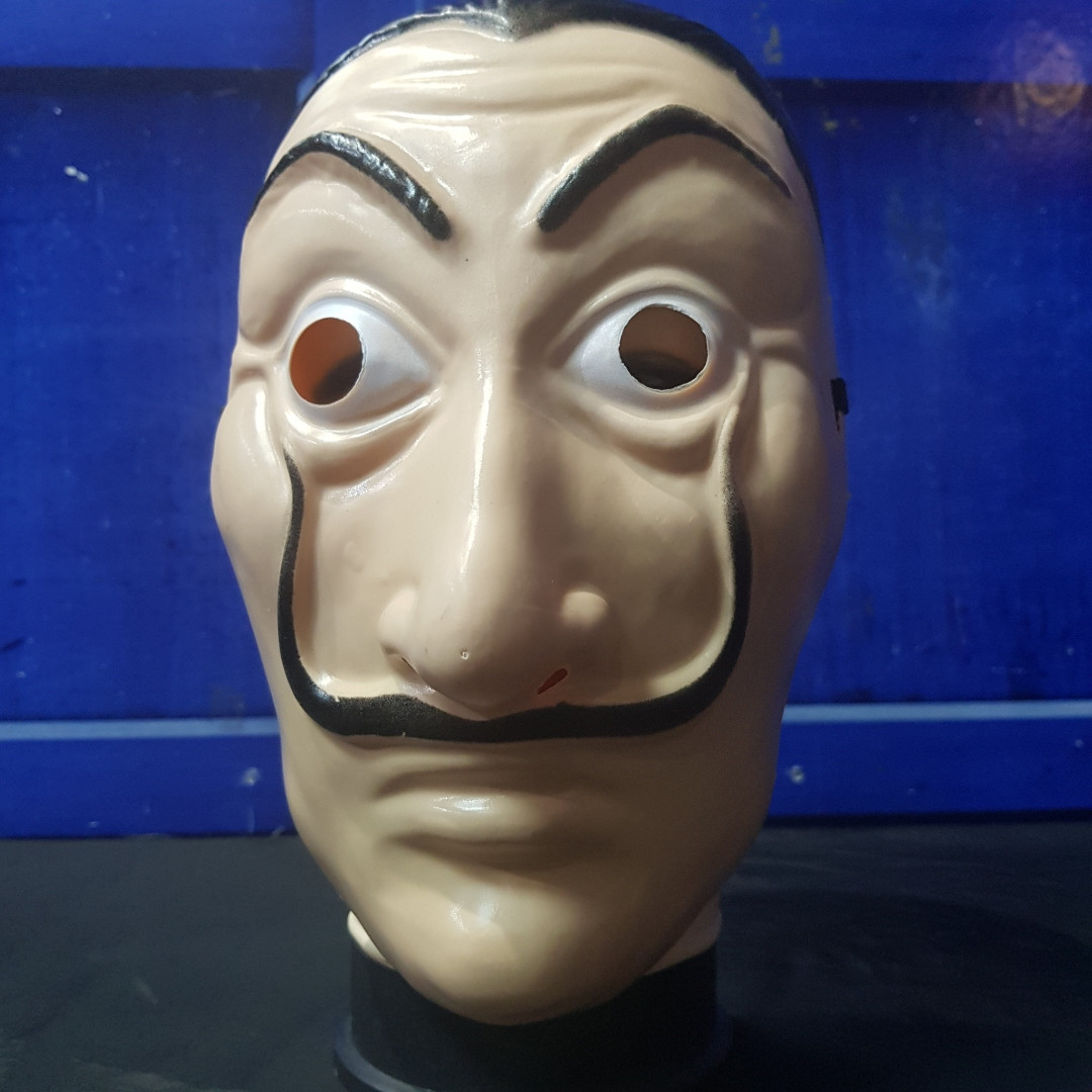 Пластиковая маска Дали Бумажный Дом