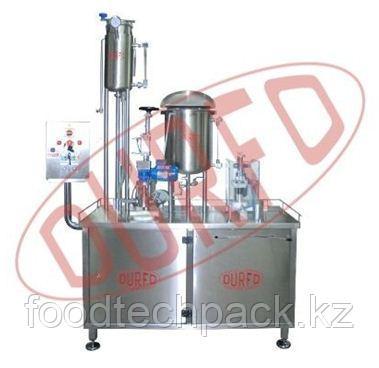 Моноблочный аппарат для вакуумной заливки и укупорки CT60-E  DURFO