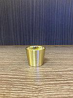 Наконечник для мебельных опор, под золото 30 мм