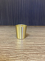Наконечник для мебельных опор, под золото 37 мм