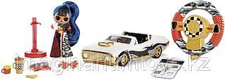 ЛОЛ машина кабриолет на радиоуправлении с куклой LOL JK