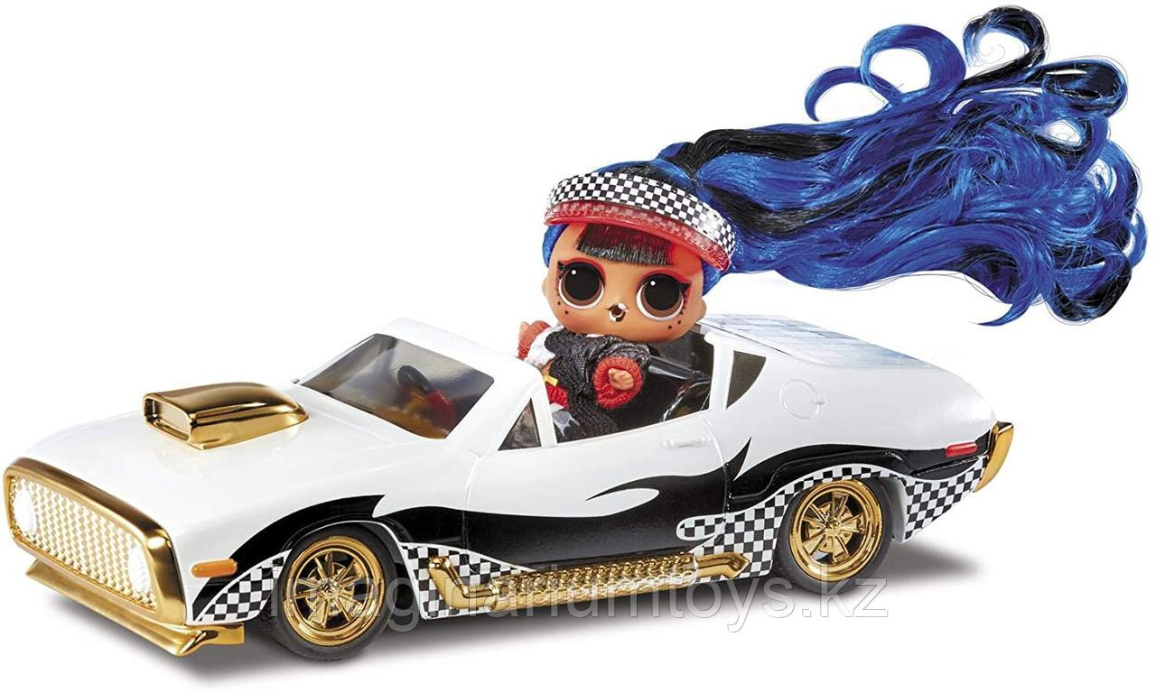 ЛОЛ машина кабриолет на радиоуправлении с куклой LOL JK - фото 3