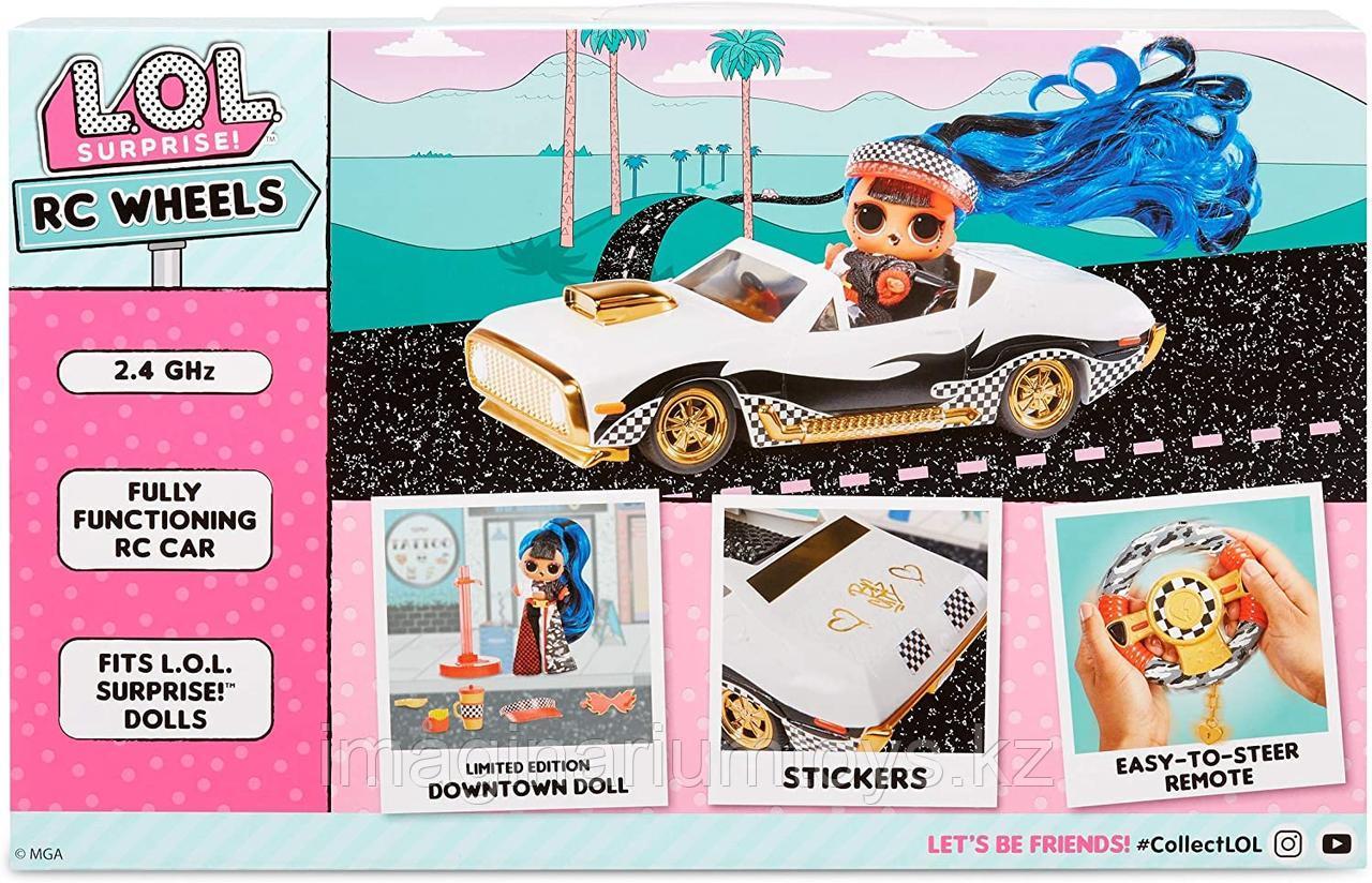 ЛОЛ машина кабриолет на радиоуправлении с куклой LOL JK - фото 6