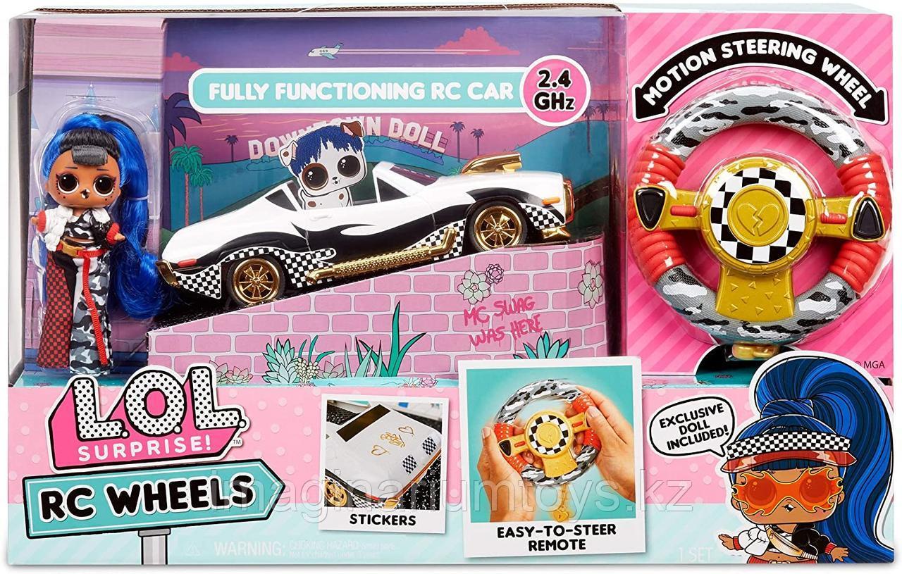 ЛОЛ машина кабриолет на радиоуправлении с куклой LOL JK - фото 5