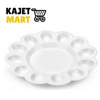 Тарелка для яиц (снежно-белый)