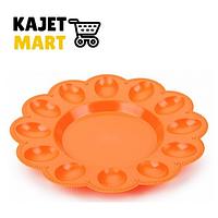 Тарелка для яиц (мандарин)