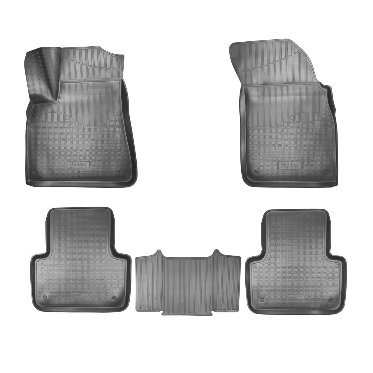 Коврики в салон Audi Q7 (4M) 3D (2015-2019) 5 мест