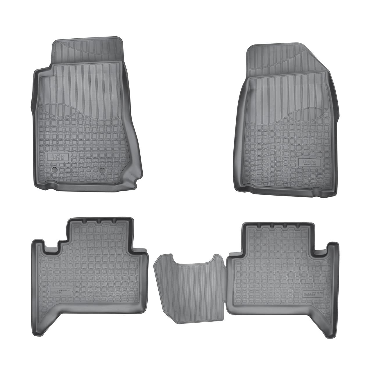 Коврики в салон Chevrolet Trail Blazer (2012-2021) 5 мест, GM 800