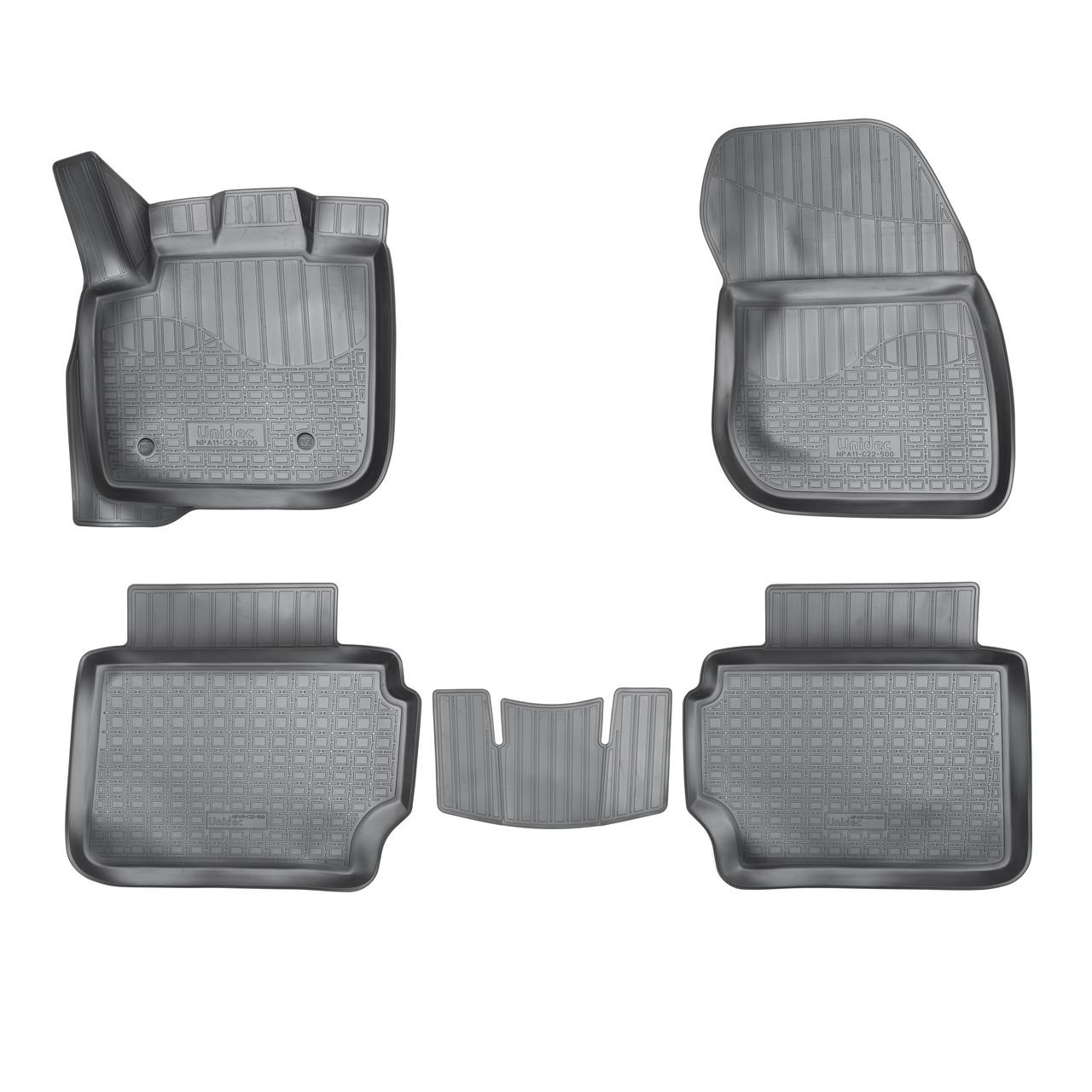 Коврики в салон Ford Mondeo V 3D (2015)\ Ford Fusion III 3D (2012)