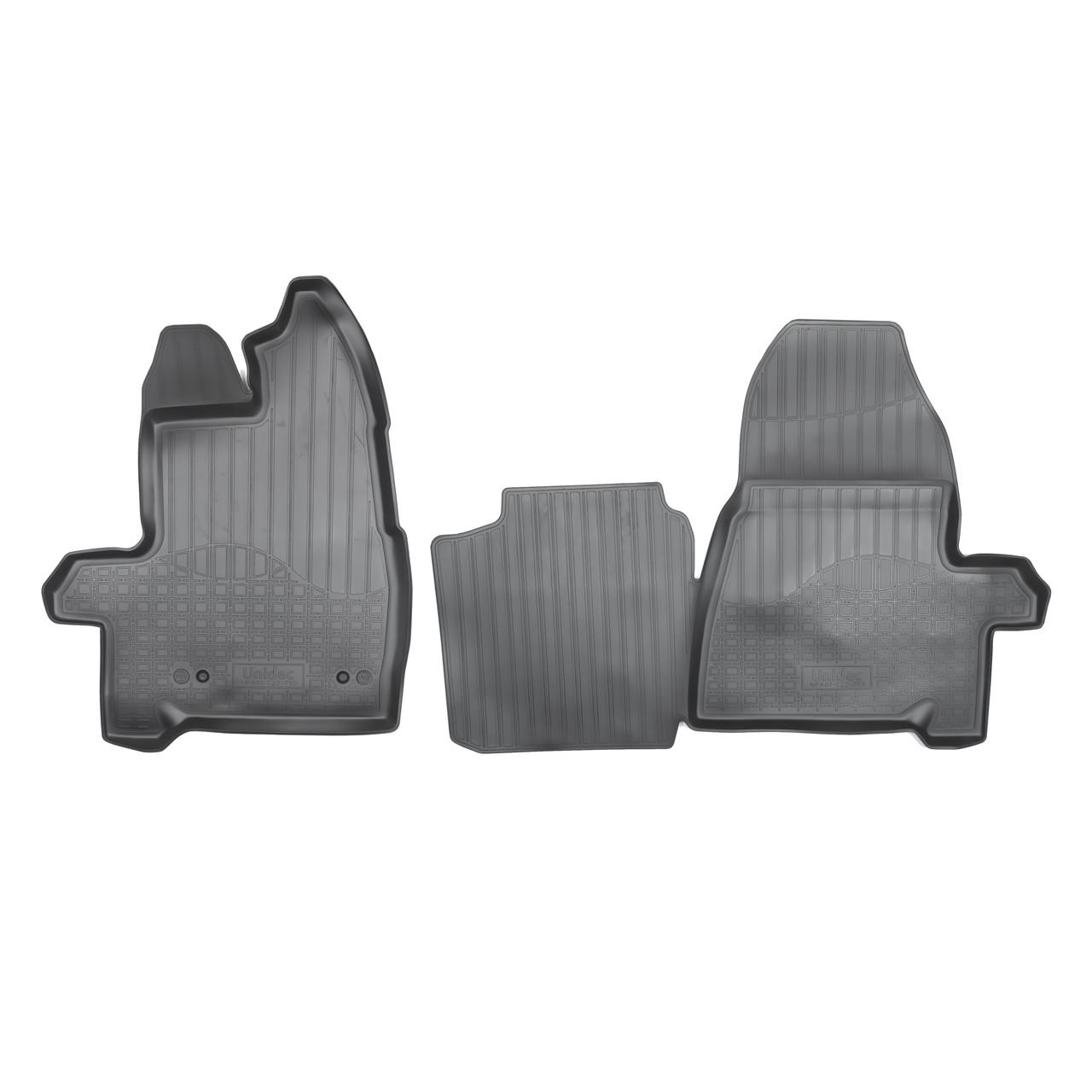 Коврики в салон Ford Transit Tourneo Custom (2013) (короткая база) (пер)