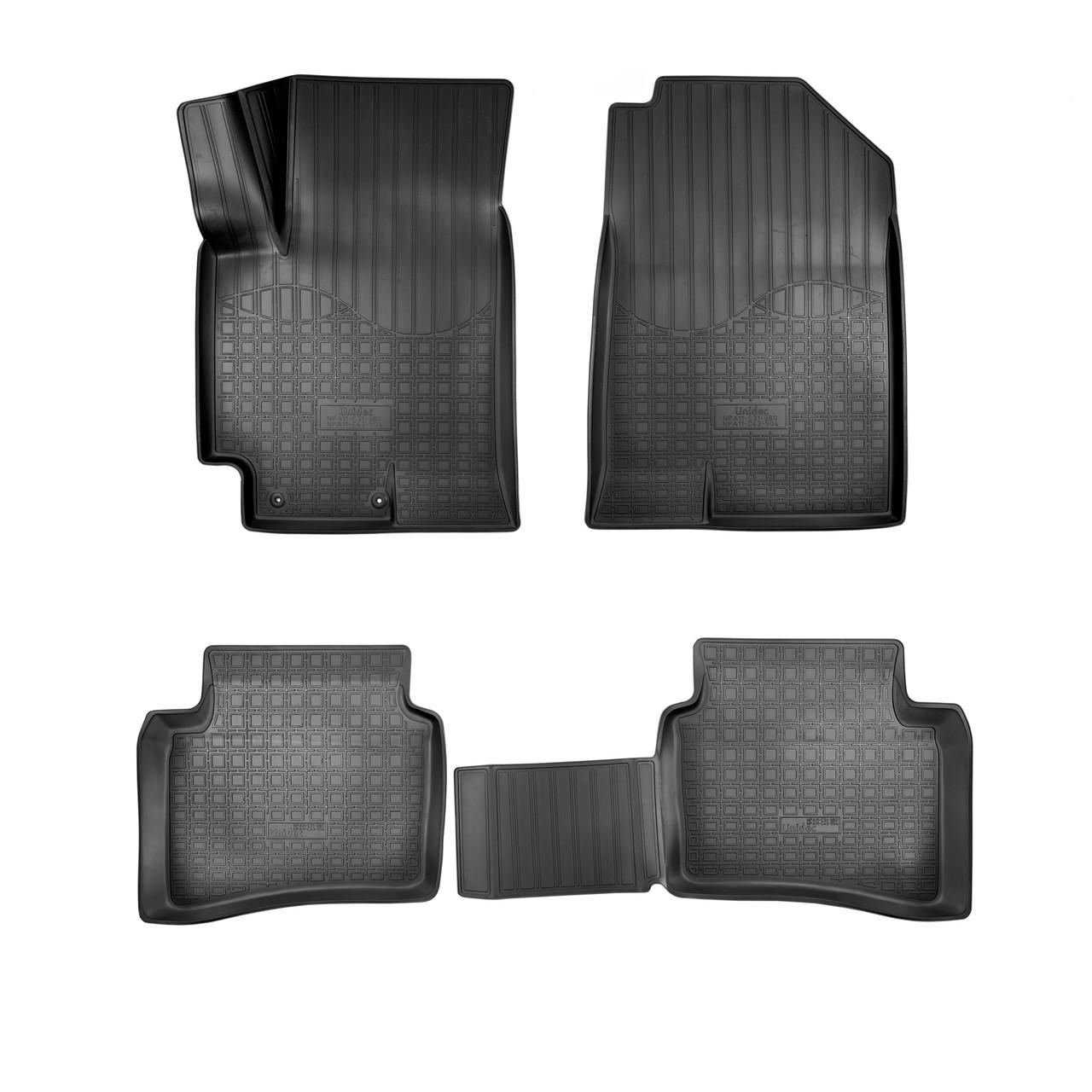 Коврики в салон Hyundai Accent/Solaris (2017-2020) 3D
