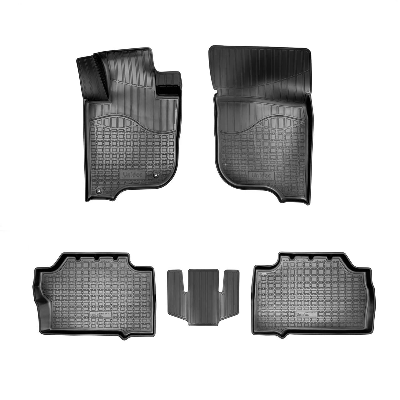 Коврики в салон Mitsubishi Pajero Sport III 3D (2015)