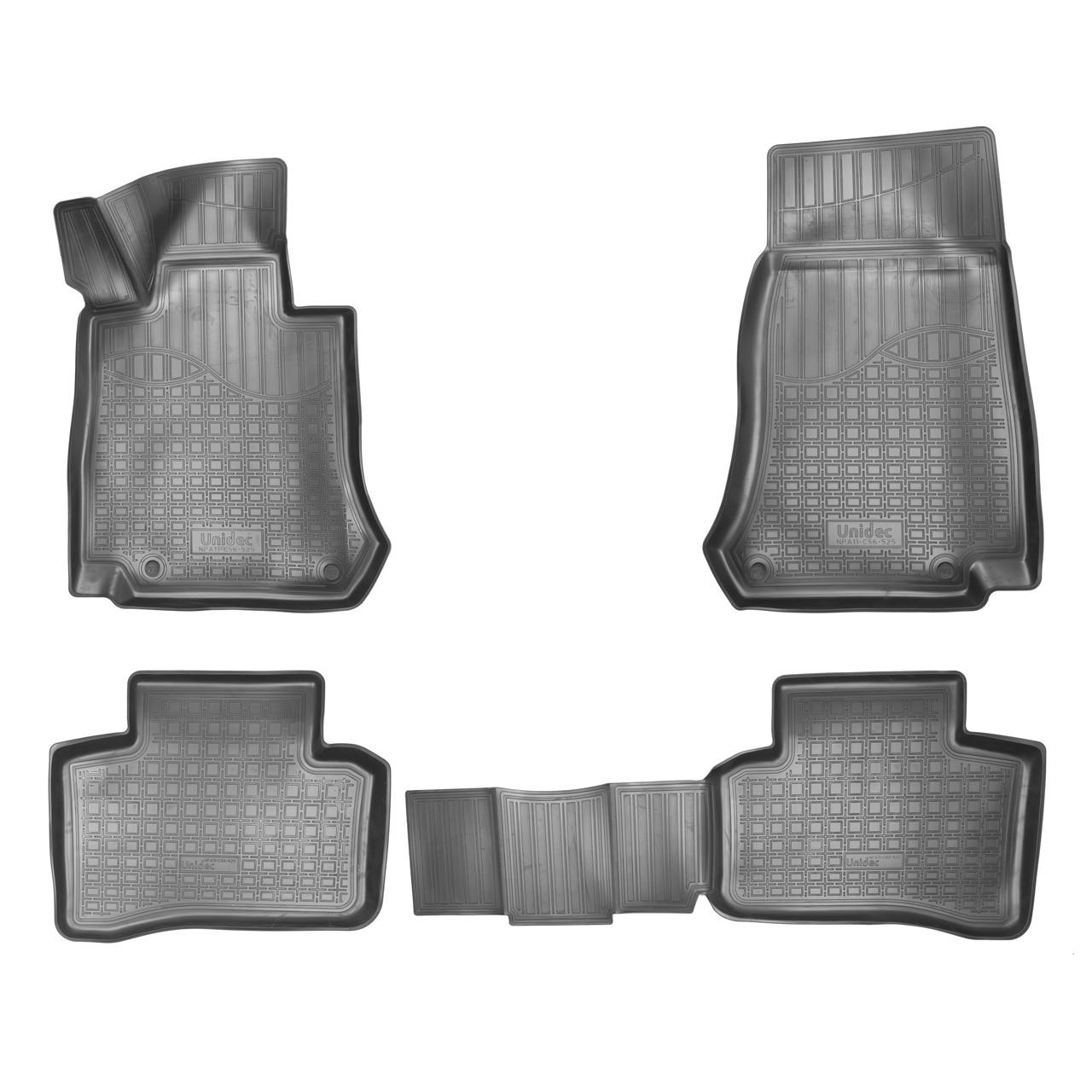 Коврики в салон Mercedes-Benz GLC (X253) 3D (2015)