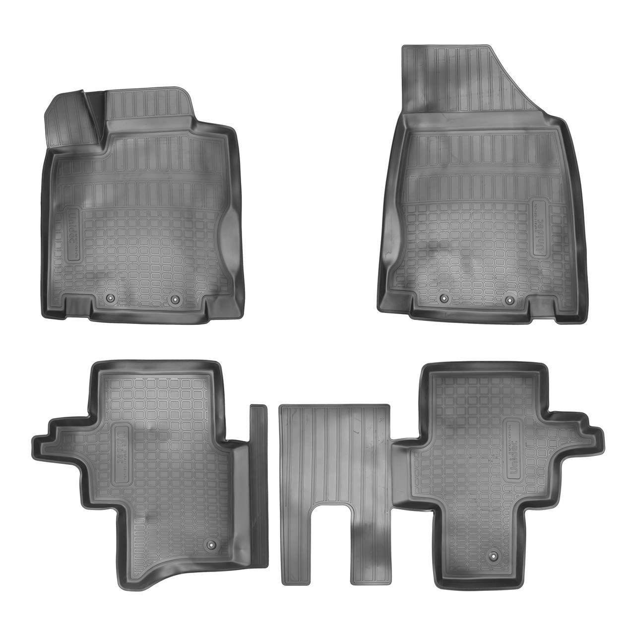 Коврики в салон Nissan Pathfinder (R52) 3D (2014) (5мест)