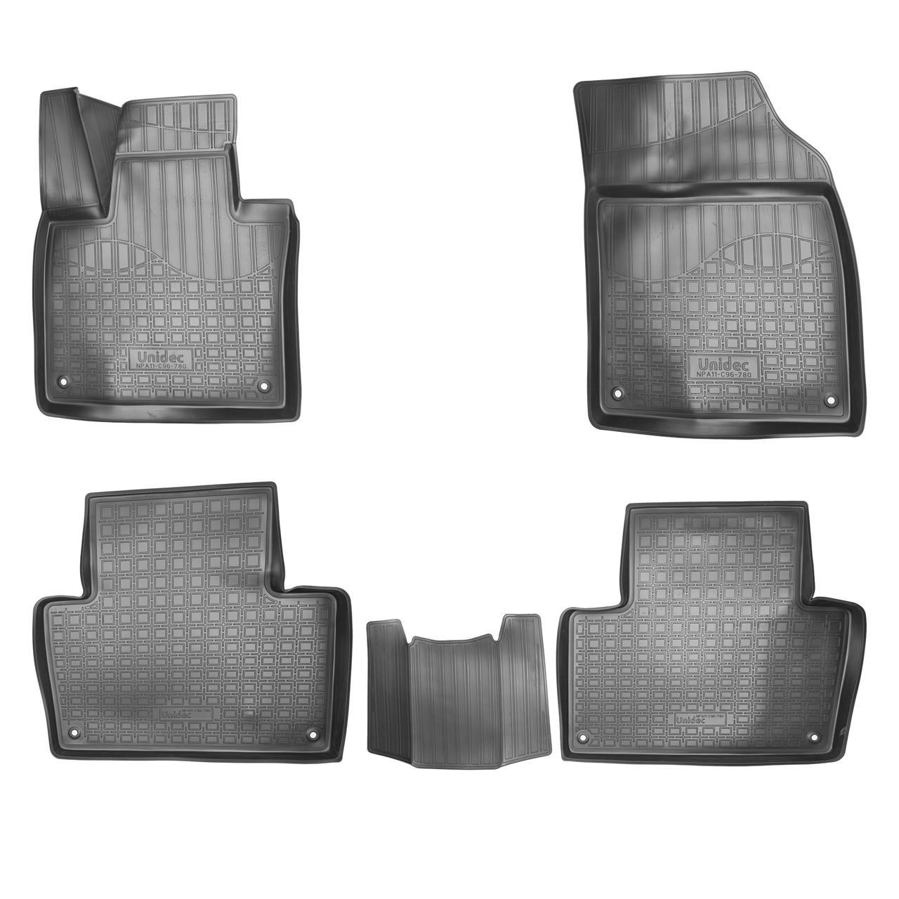 Коврики в салон Volvo XC90 3D (2015) (5 мест)