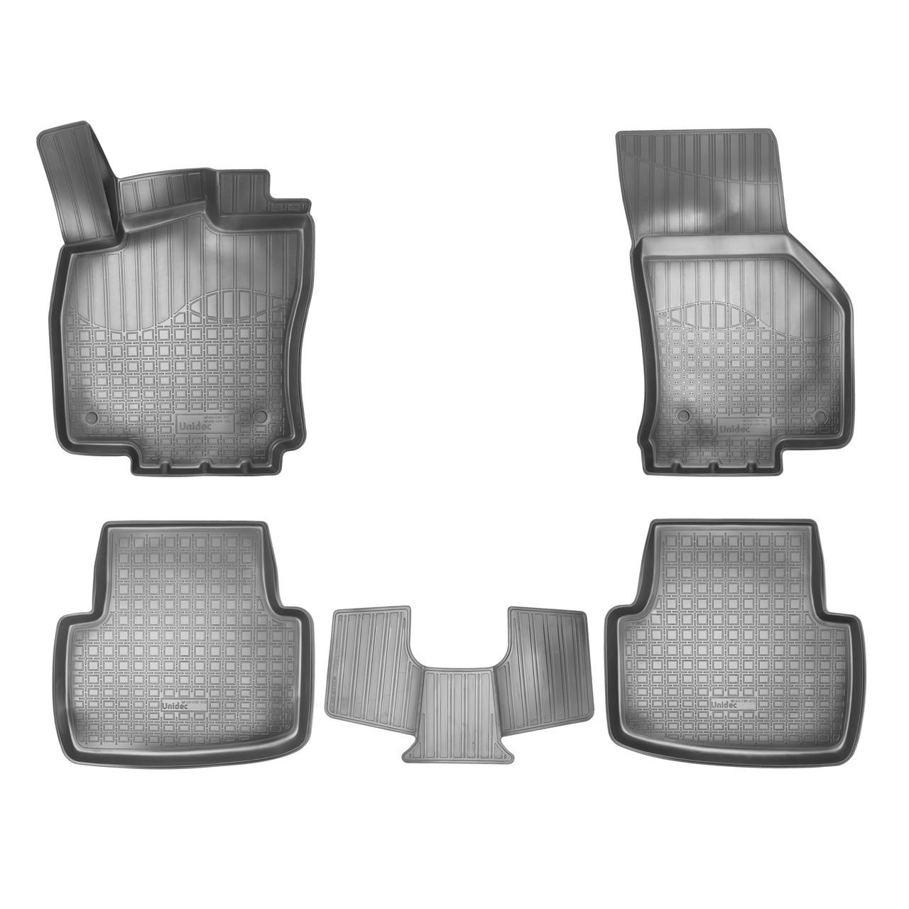 Коврики в салон Volkswagen Passat B8 (2015-2020) 3D
