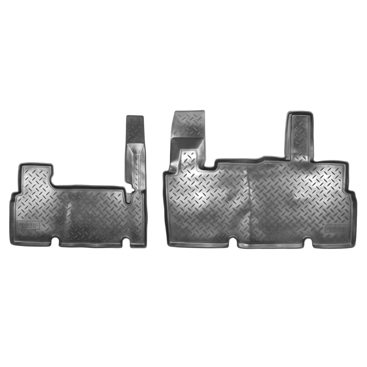Коврики в салон ГАЗель Цельно-металлический фургон КОМБИ (2003) (зад)