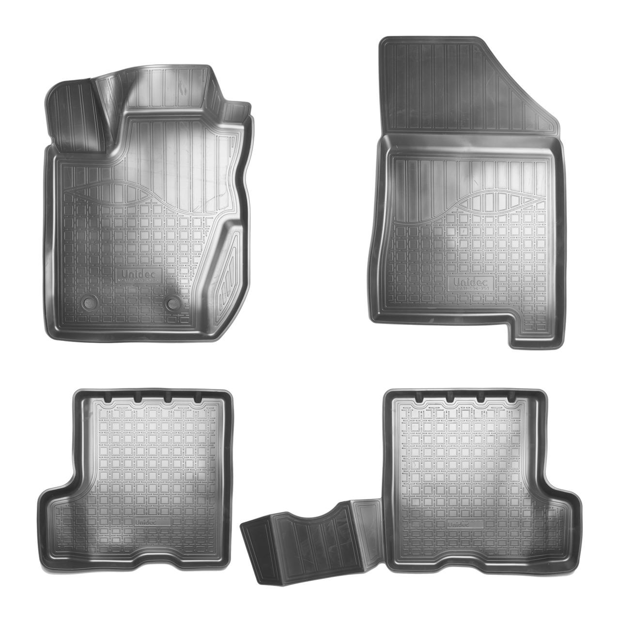 Коврики в салон Lada XRAY (2015-2020) 3D (с ящиком)