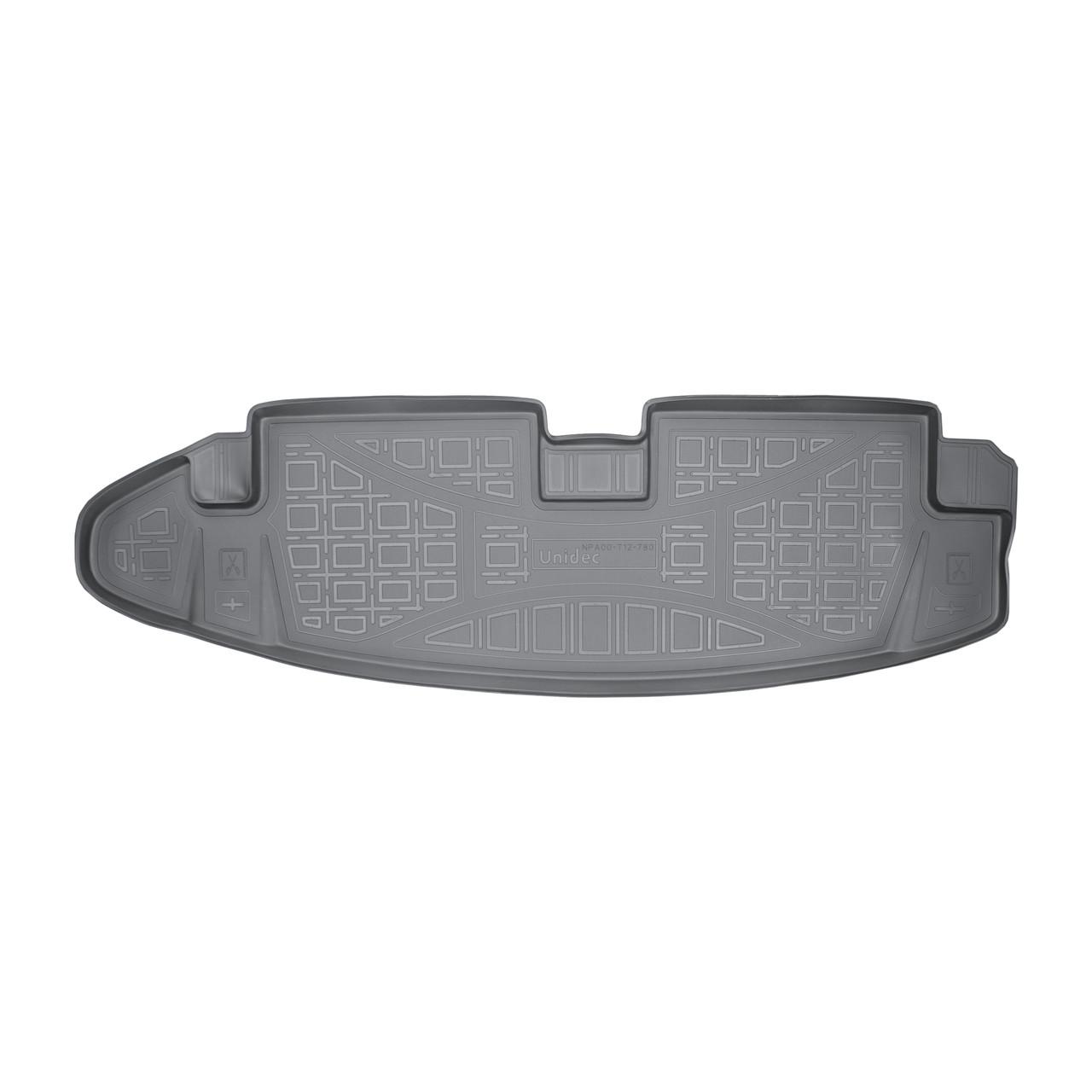 Коврик в багажник Chevrolet TrailBlazer 7 мест (2013-2015)