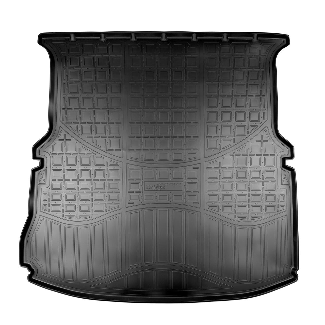 Коврик в багажник Ford Explorer (2010-2019) (cложенный 3 ряд)