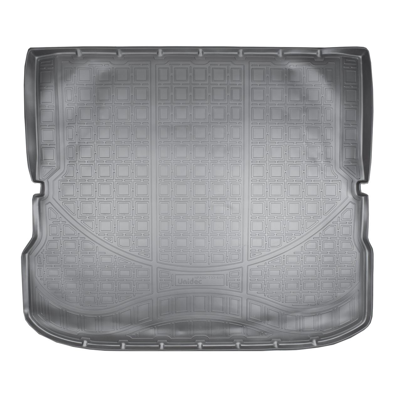 Коврик в багажник Infiniti JX L50(2012-2021)/Infiniti QX60 L50 (сложенный 3 ряд)
