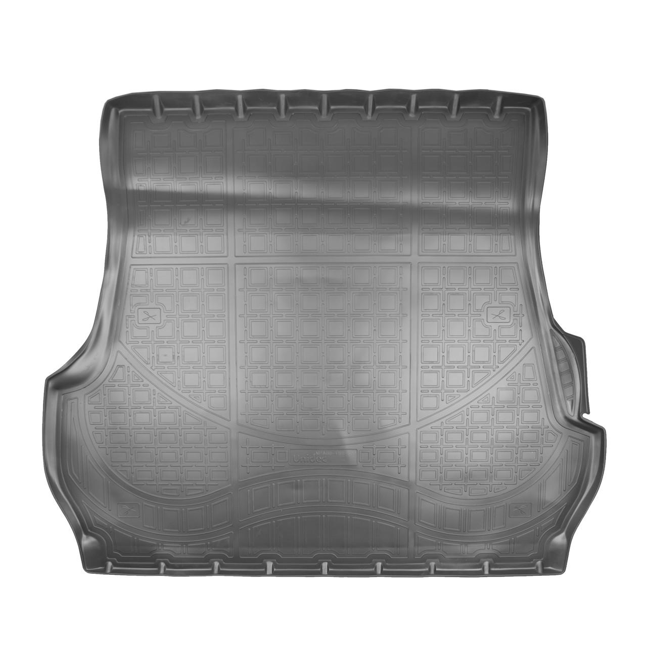 Коврик в багажник Lexus LX 570 5 мест\ Toyota Land Cruiser 200 (2007-2011) 5 мест