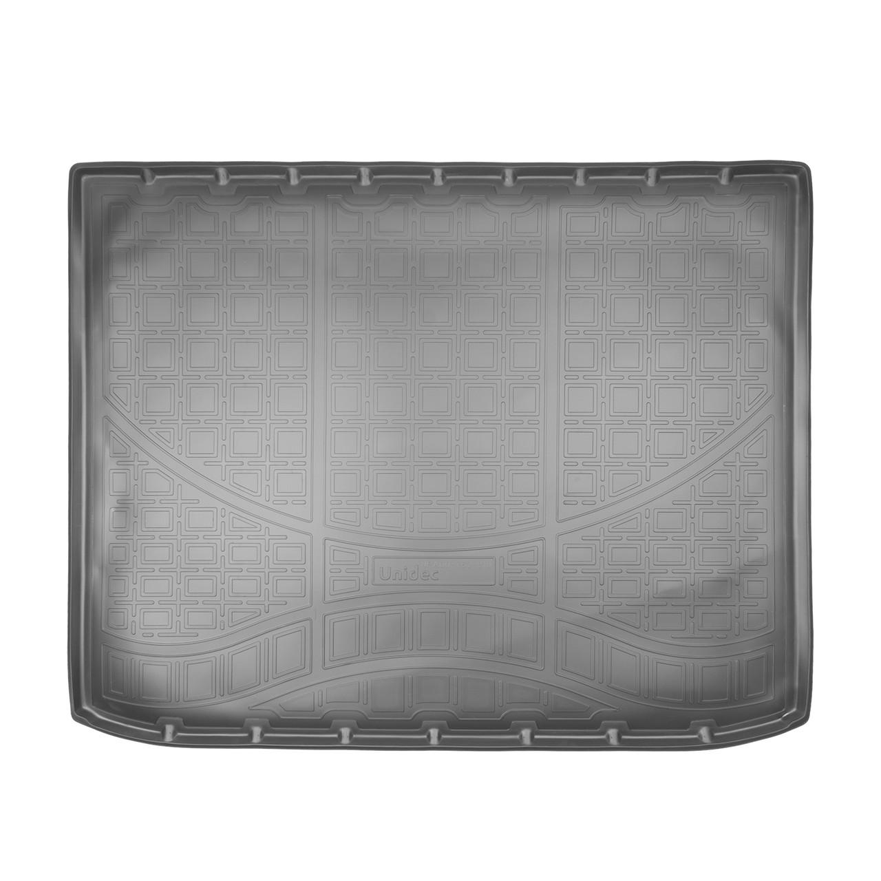 Коврик в багажник Opel Zafira C (2012) (5\ 7 мест, сложенный 3 ряд )
