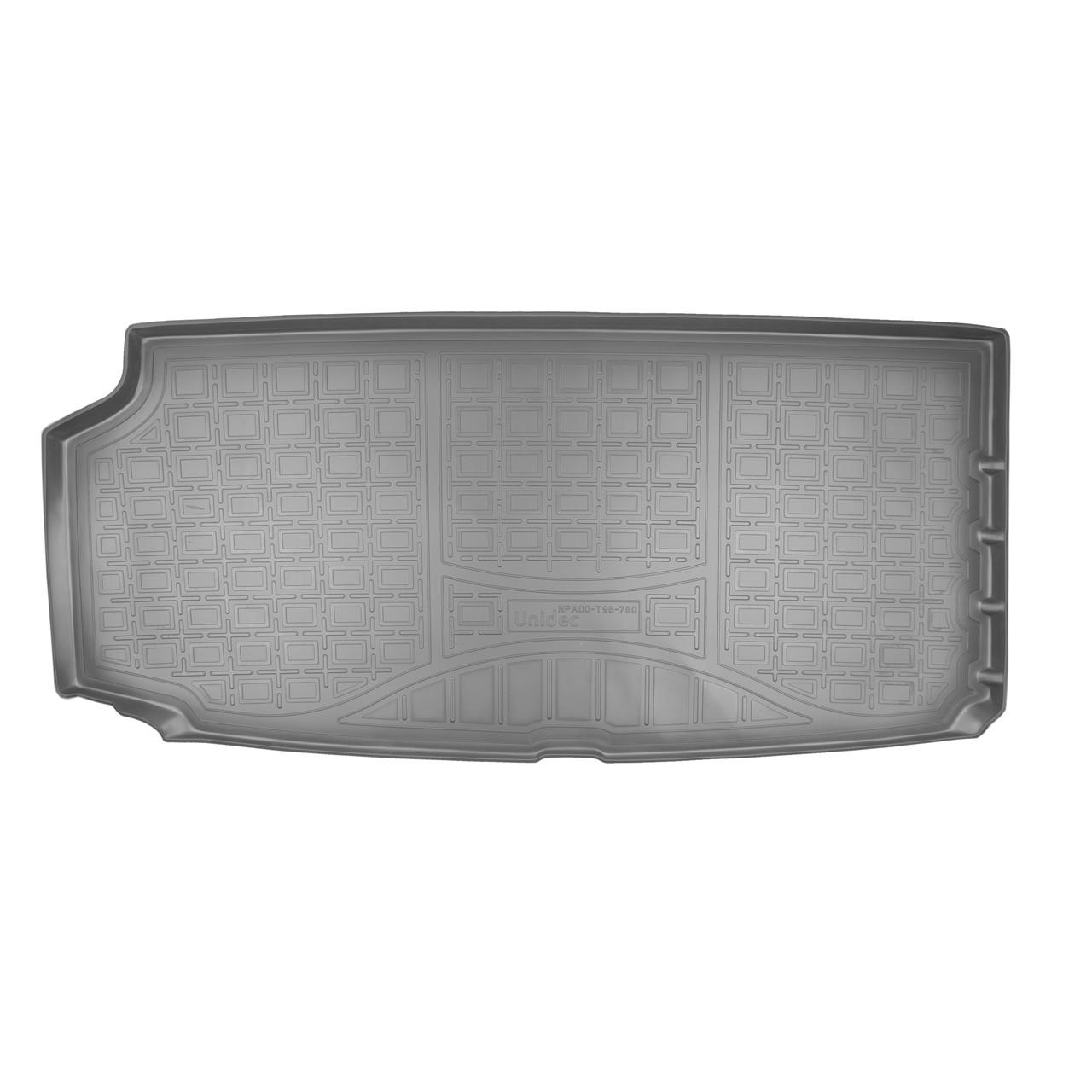 Коврик в багажник Volvo XC90 (2015) (разложенный 3 ряд)