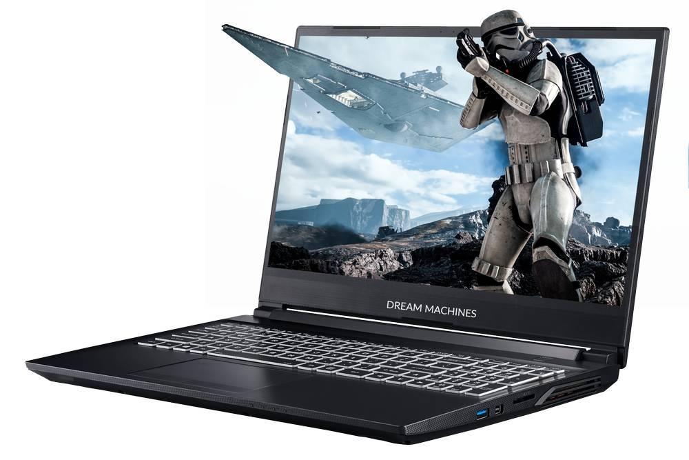 Игровой ноутбук Dream Machines G1650-15XX08 <15.6'' FHD IPS, i5-10300H, GTX1650 4GB,)