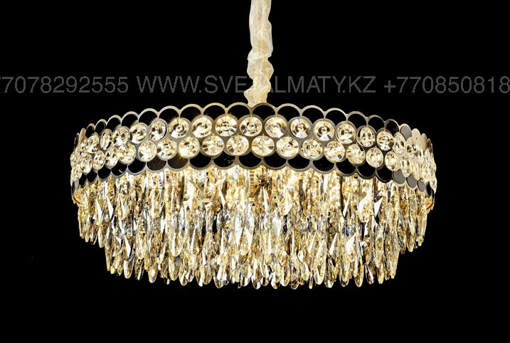 Хрустальная современная люстра на 22 лампы