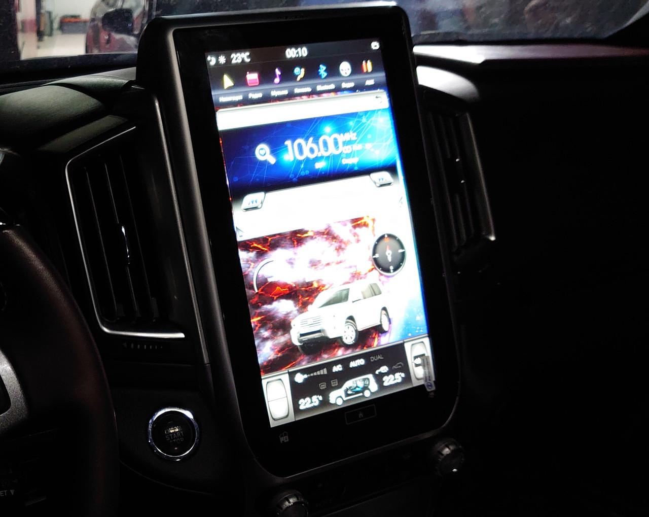 Автомагнитола  land Cruiser 200 Tesla ZhiFang