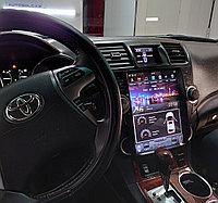 Автомагнитола Toyota Highlander u40 Tesla ZhiFang