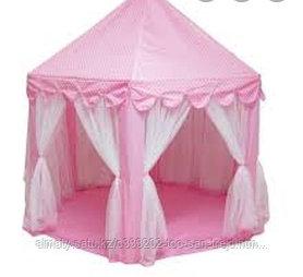 Палатка-шатер детская  (розовая, голубая)