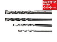 ЗУБР Мастер 4 шт: d 5-6-8-10 мм набор сверл по бетону (2922-H4)