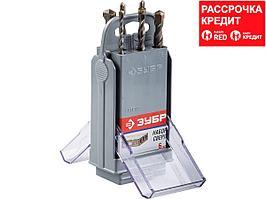 ЗУБР Мастер 6 шт: d 4-5-6-6-8-10 мм набор сверл по бетону (2922-H6-SB)