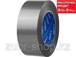 Армированная лента, ЗУБР Профессионал 12090-50-50, универсальная, влагостойкая, 48мм х 45м, серебристая (12090-50-50)
