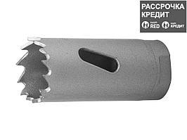 ЗУБР 22мм, коронка биметаллическая, быстрорежущая сталь (29531-022_z01)