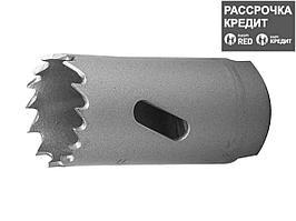 ЗУБР 25мм, коронка биметаллическая, быстрорежущая сталь (29531-025_z01)