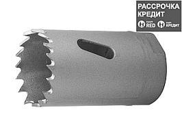 ЗУБР 29мм, коронка биметаллическая, быстрорежущая сталь (29531-029_z01)