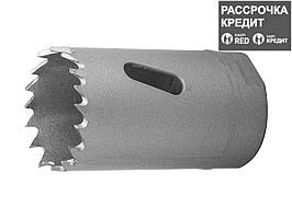 ЗУБР 30мм, коронка биметаллическая, быстрорежущая сталь (29531-030_z01)