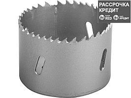 ЗУБР 60мм, коронка биметаллическая, быстрорежущая сталь (29531-060_z01)