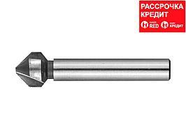 ЗУБР d 12.4x56мм, Зенкер конусный, для раззенковки М6 (29730-6)