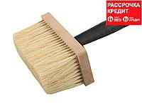 """Кисть-макловица ЗУБР """"ЭКСПЕРТ"""" битумная, деревянный корпус, щетина из натурального волокна, 70х170мм"""