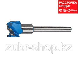 ЗУБР Композит 25x90мм, сверло форстнера композитное, твердосплавные резцы (29945-25)