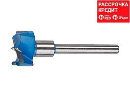 Сверло по дереву Форстнера ЗУБР 29945-32, композитное с твердосплавными вставками, 32х10мм