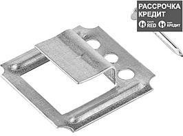 Крепеж для вагонки КЛЯЙМЕР 1 мм, 100 шт, ЗУБР (3075-01)