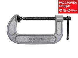 Струбцина ЗУБР 32245-125, МАСТЕР, тип G, ковкий чугун, 125 мм