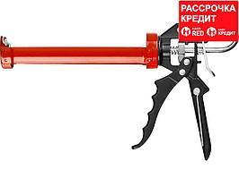 ЗУБР скелетный пистолет для герметика Профессионал, усиленный, поворотный, 310 мл. (06635)
