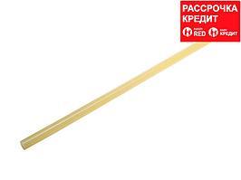 ЗУБР Профессионал желтые сверхпрочные клеевые стержни, d 11 х 300 мм (11-12 мм) 33 шт. 1 кг (06856-12-2)