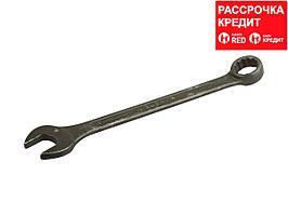Гаечный ключ комбинированный ЗУБР серия Т-80, хромованадиевая сталь, зелёный цинк, 19мм, 27025-19